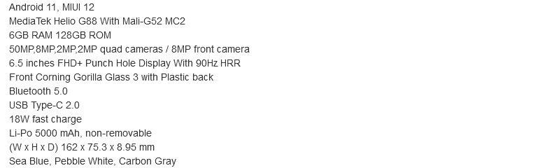 Характеристики и стоимость похожего на Mi 10 Ultra недорогого смартфона Redmi 10