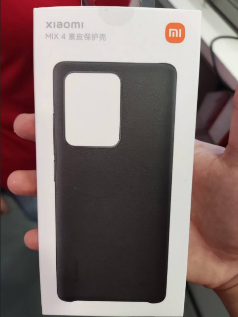 Xiaomi Mi Mix 4: основные характеристики и фото защитного чехла