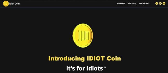 Криптовалюта с говорящим названием Idiot вызвала ажиотаж на рынке