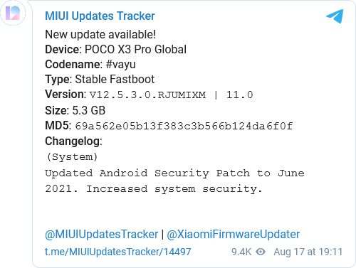 Чотири смартфона Xiaomi, Poco і Redmi отримали MIUI 12.5
