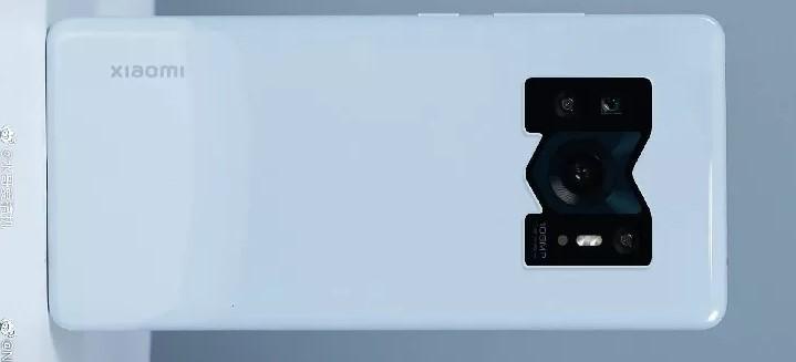 Новый рендер Xiaomi 12