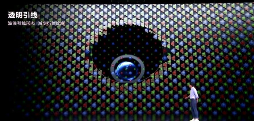 Фронтальная камера Mi Mix 4