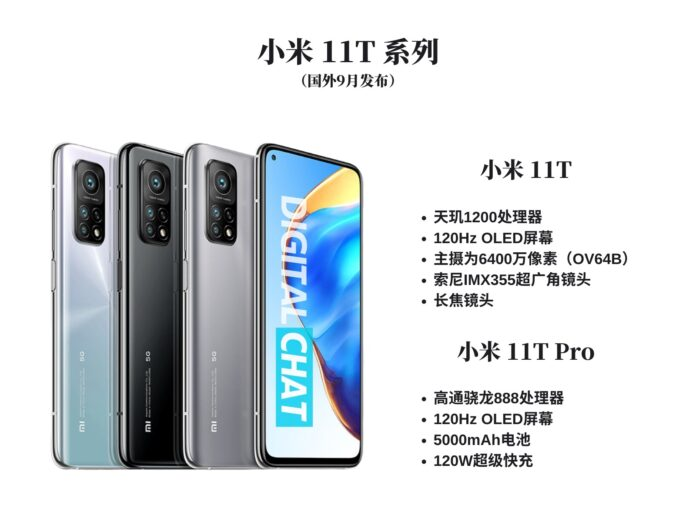 Раскрыт дизайн и стоимость Xiaomi Mi11T Pro