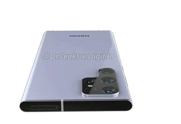 Рендеринг флагмана Samsung Galaxy S22 Ultra с Snapdragon 898