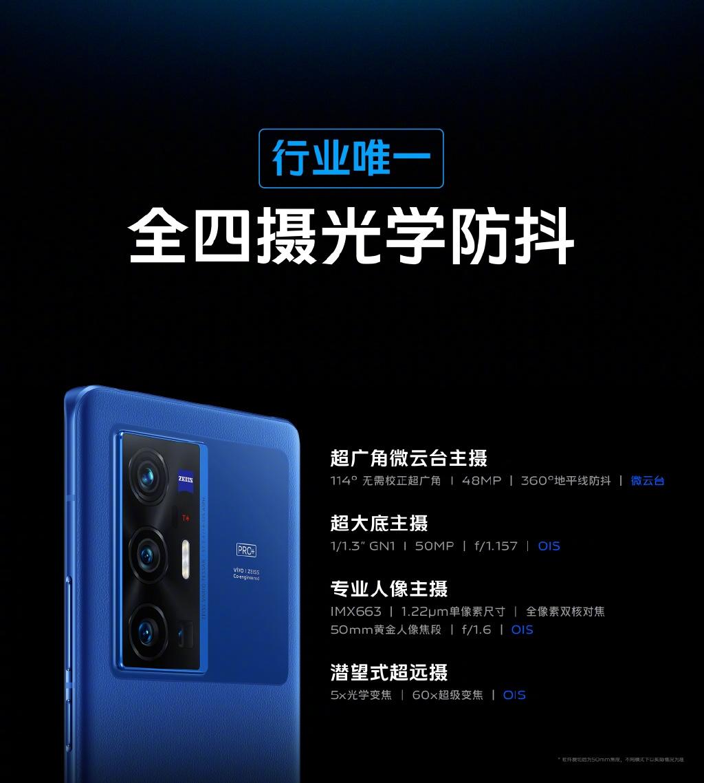 Выпущены смартфоны серии Vivo X70