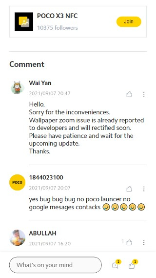 Владельцы смартфонов Poco жалуются на новую проблему