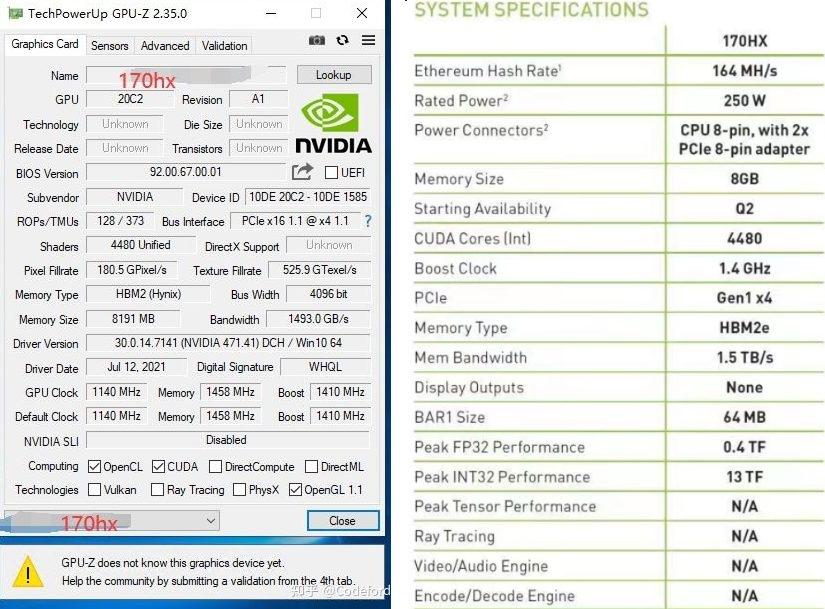 Тест первой видеокарты NVIDIA для майнинга удивит многих