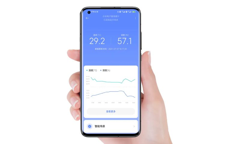 Электронный термометр и гигрометр Xiaomi