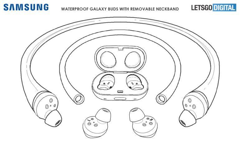 Супер водонепроницаемая беспроводная Bluetooth-гарнитура Samsung