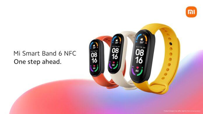 Представлены Mi Smart Band 6 с NFC, планшет со стилусом, Xiaomi Mesh System AX3000 и бюджетный проектор