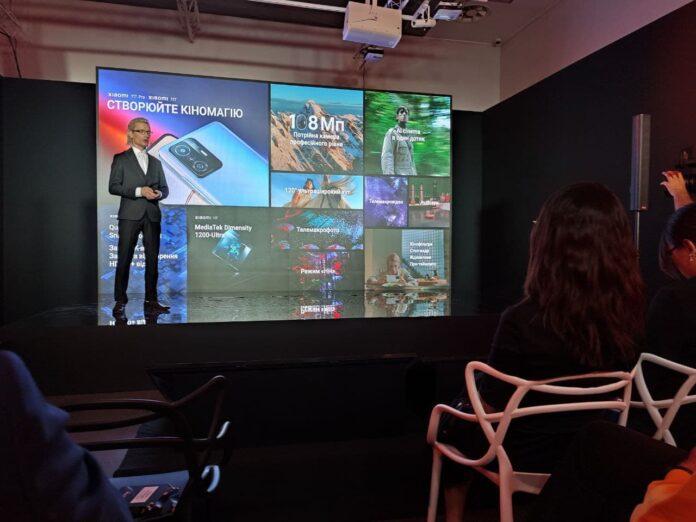 Озвучены цены серии Xiaomi 11T в Украине