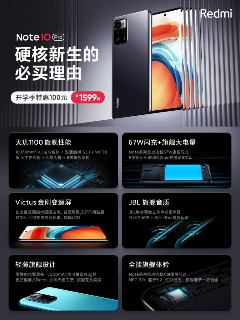 Китайский клон Poco X3 GT стал доступнее