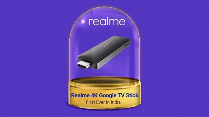 Первый TV-стик Realme получил памяти в два раза больше, чем Xiaomi Mi TV Stick и Chromecast with Google TV