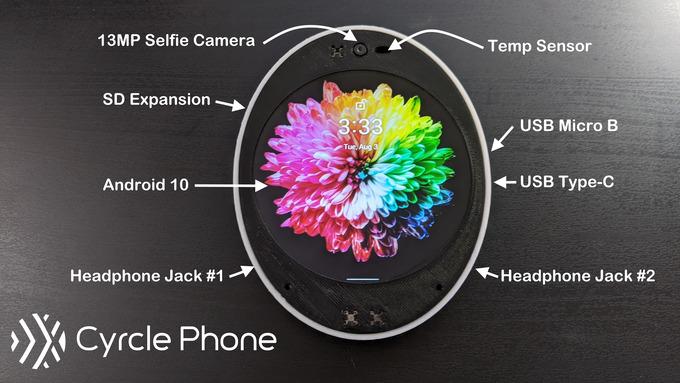 Cyrcle Phone 2.0: круглый смартфон с оригинальным дизайном можно получить в подарок (условия)