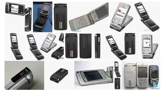 Самые удивительные телефоны начала нулевых