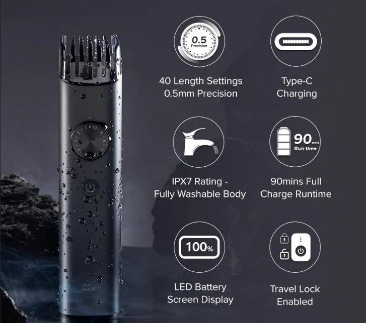 Xiaomi выпустила триммер для ухода за бородой Beard Trimmer 2