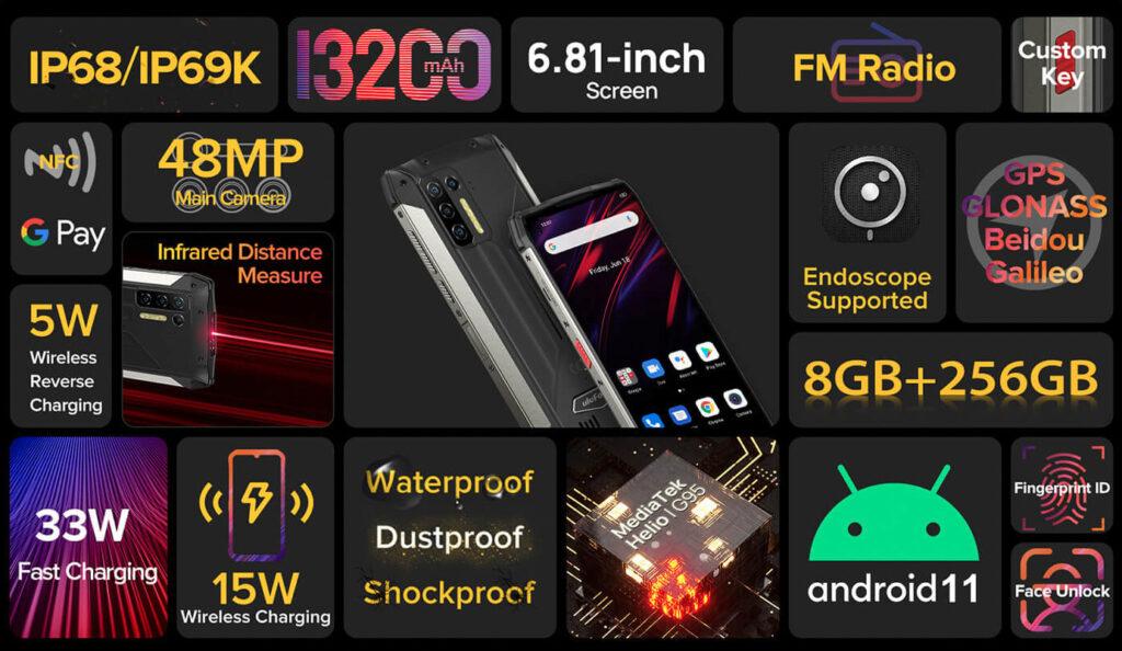 Названы 5 самых бюджетных ударопрочных смартфонов китайских производителей