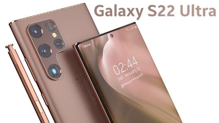 Рендеринг Samsung Galaxy S 22