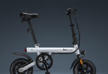 12-дюймовый складной электрический велосипед Baicycle Xiaobai