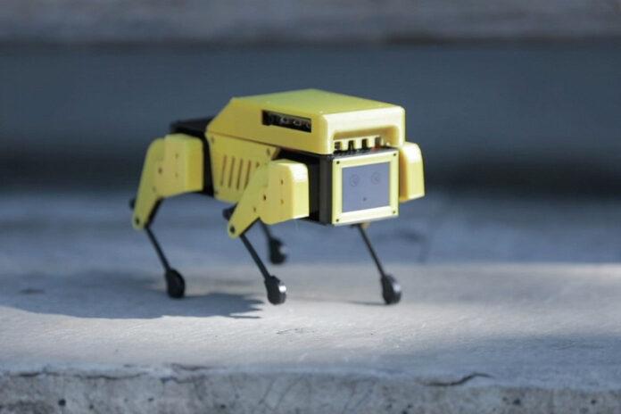 Mini Pupper: робопёс за 250 долларов на основе Stanford Pupper