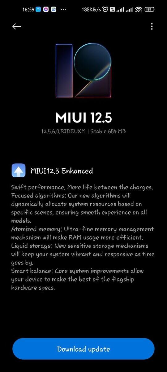 Mi 10T/10T Pro получили MIUI 12.5 Enhance