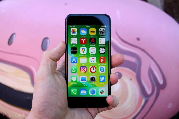 А 15 серии Apple iPhone SE