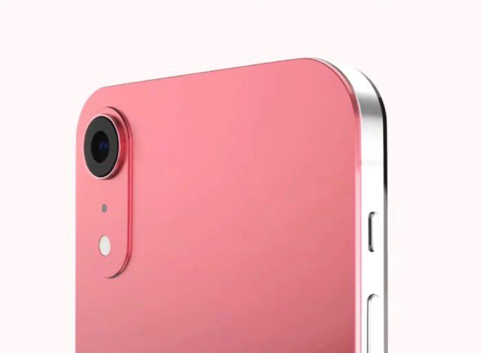 Рендер Apple iPhone SE 3