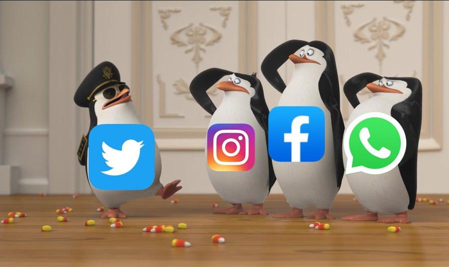 Пользователи и конкуренты высмеяли глобальный сбой в Facebook, Instagram и WhatsApp