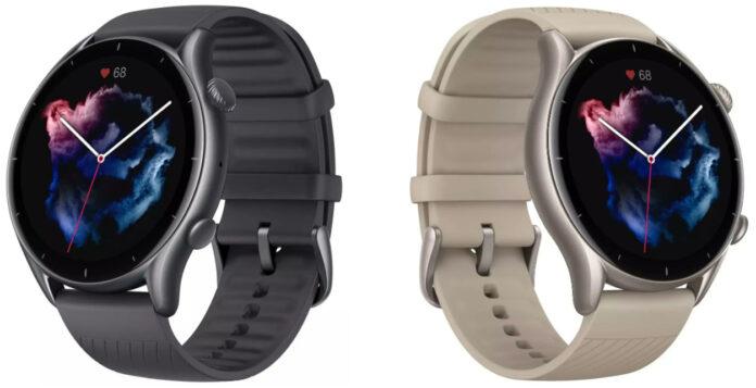 Amazfit выводит на рынок новые смарт-часы GTR 3 Pro и GTR 3