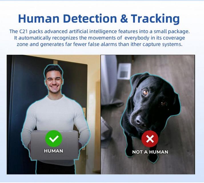 Камера наблюдения с функцией обнаружения и отслеживания людей IMILAB C21 доступна для приобретения с грандиозной скидкой 72%