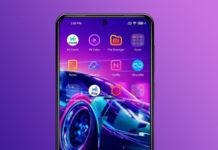 Неоновая тема Deluxe LineUI с индивидуальным дизайном для смартфонов Xiaomi Redmi и POCO