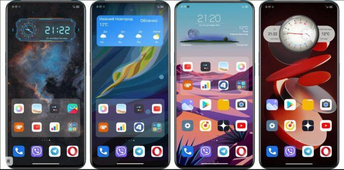 виджеты для Xiaomi